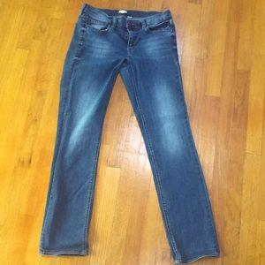 Jcrew matchstick jeans, medium wash size 29